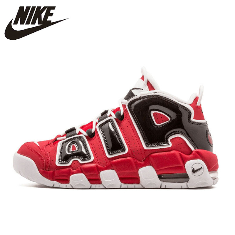 Nike Shoes Sneakers Basketball-Shoes More Uptempo Authentic Outdoor Sports New-Arrival