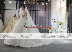 Image 3 - رداء مارياج فام 2020 فستان زفاف دانتيل كامل فساتين زفاف للعروس