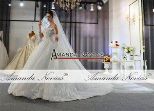 Image 3 - Szata mariage femme 2020 pełna koronkowa suknia ślubna suknie ślubne dla panny młodej
