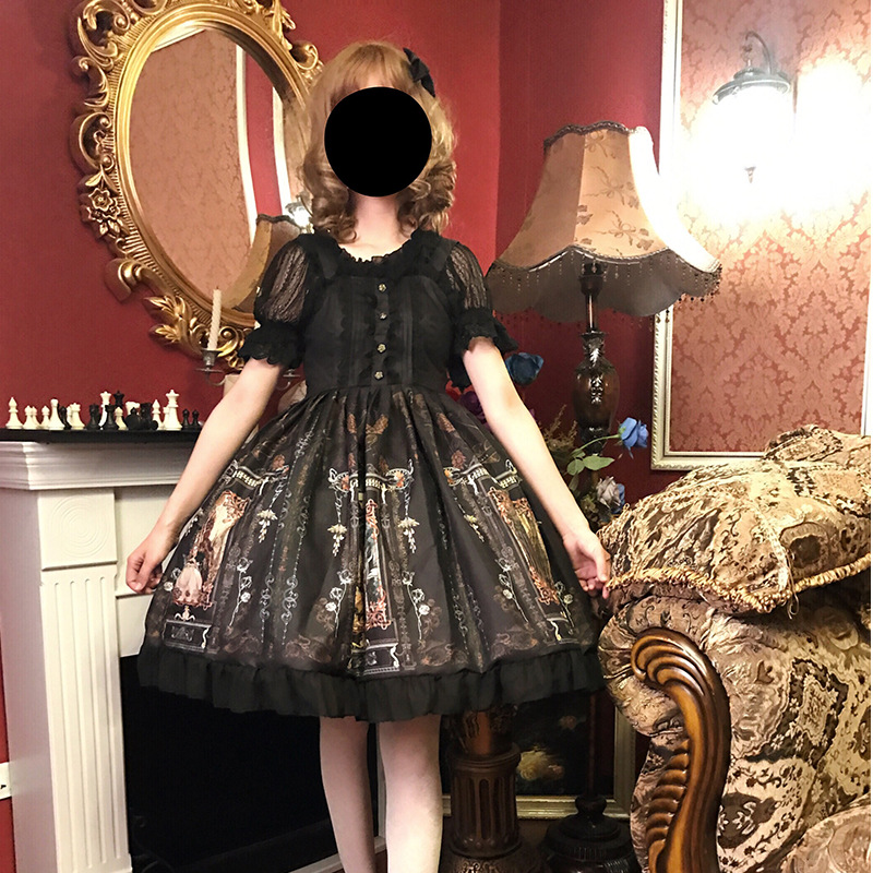 2019 gothique lolita fée femmes lolita robe kawaii lolita vêtements vestido victoriano femmes punk lolita robes