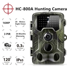 HC800A Trail hunting game camera foto trap animal cam scout deer feeder chasse trampas para cazar security guard ghost