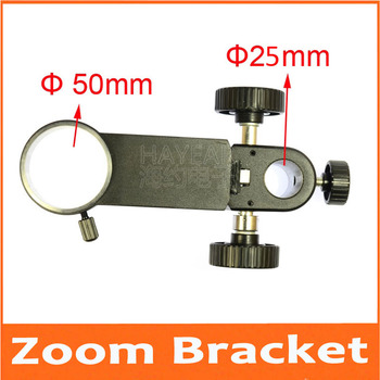 Adjustment Zoom Focusing Bracket for Single Cylinder Digital Microscope Focus support Holder for industrial camera XDC-10A 50mm