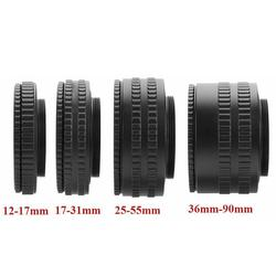 M52 Lens To M42 Camera Adjustable Focusing Helicoid Ring Adapter 36 -90mm Macro Extension Tube M52-M42 Mount