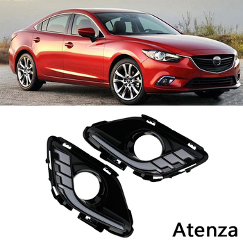 Car LED Daytime Running Lights with Turn signal Function for Car special M6 Atenza 2014 2015 2016 Replace Fog Lamp Covers 12V