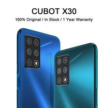 Cubot x30 celular inteligente 4g banda global cinco câmera traseira 256gb smartphone nfc 6.4