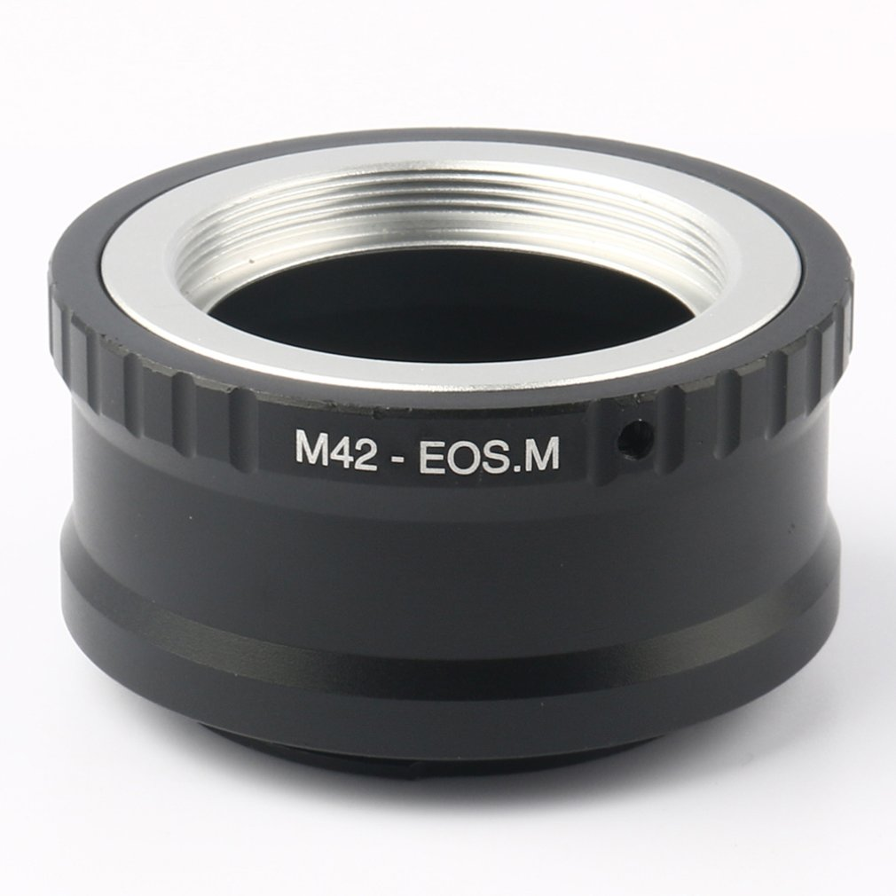 For M42-EOS M Mount Adapter Ring For M42 Screw Lens To Canon EF-M Mirroless Camera M1 M2 M3 M10