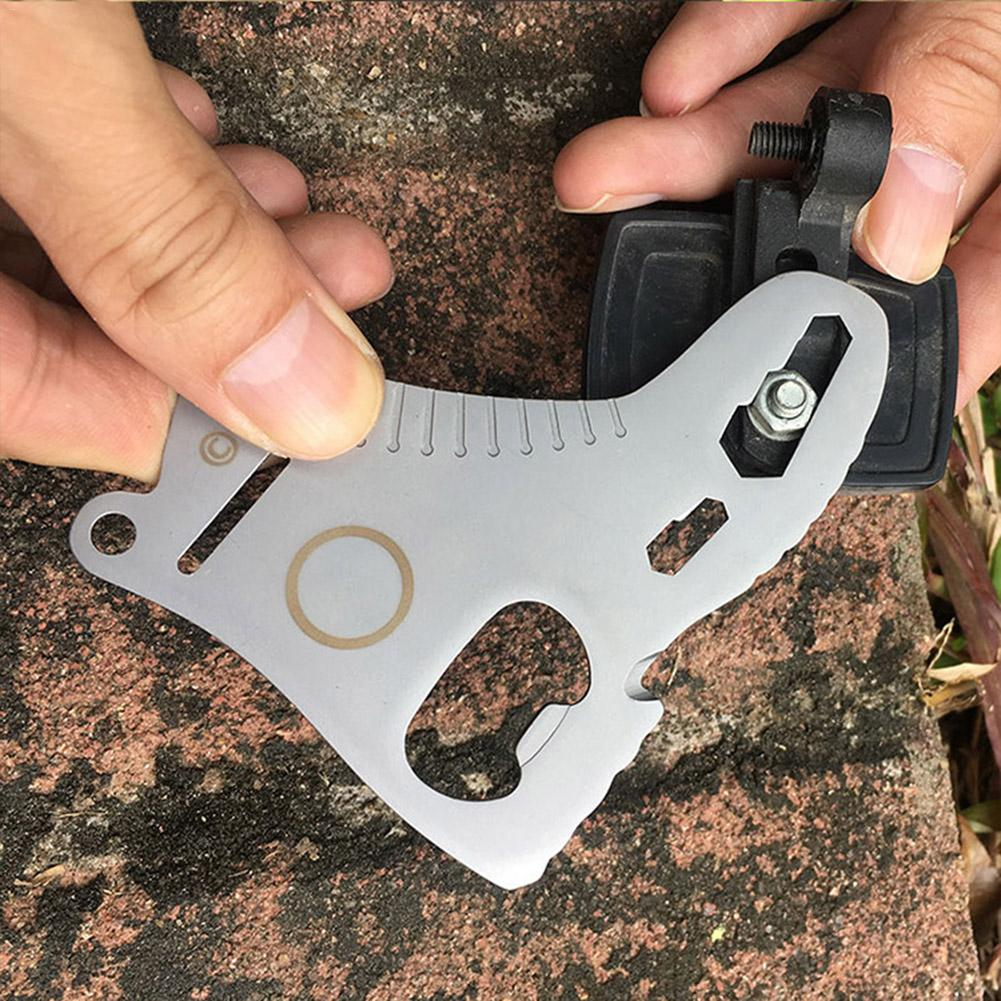 2PCS Multi Tools Bicycle Repair Tool Bottle Opener With Stainless Steel Construction For Hiking Camping Outdoor Survival Tool in Outdoor Tools from Sports Entertainment