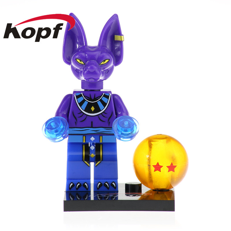 Super Heroes Building Blocks Kaio Shin Zamasu Android 13 Goku Ssj Xeno  Dragon Ball Series Bricks Toys For Children KF462