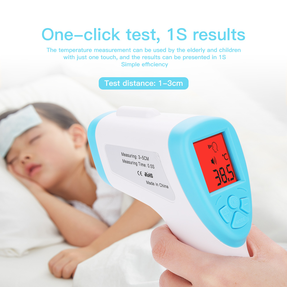 Infrared Thermometer Contactless Baby/Adult Generic Fast Practical Health Forehead Thermometer Body Thermometer Outdoor