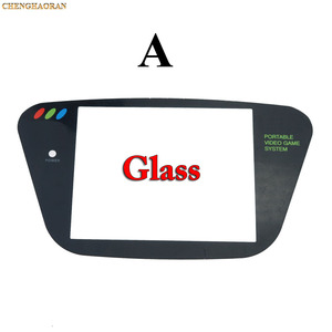 Image 2 - ChengHaoRan 5pcs פלסטיק החלפת מסך כיסוי עדשה עבור Sega משחק הילוך שחור GG Gamegear קונסולה