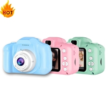 Mini Camera Camcorder Kids Toys Cartoon Real Switching Shooting Timed 2inch Language