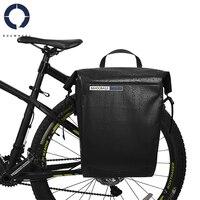Roswheel Sahoo 20L Volledige Waterdichte Fiets Zadeltas Mountainbike Accessoires Fiets Fietstas Dry Bag Back Rear Seat Trunk Bag-in Fietstassen van sport & Entertainment op