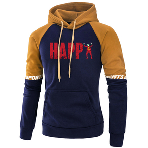 Funny The Joker Happy Printed Mens Hoodies Sweatshirts Harajuku Raglan Hoodie Autumn Warm Pullover Fleece Street Tracksuits