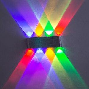 Image 1 - Ip65アップダウン壁ランプledシルバーアルミ屋外屋内ホーム階段の寝室のベッドサイドランプ浴室ライト