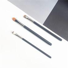 O corretivo & liso definer forro escova 194/195/212 corretivo sintético highlighter marrom lash forro maquiagem escova de olho