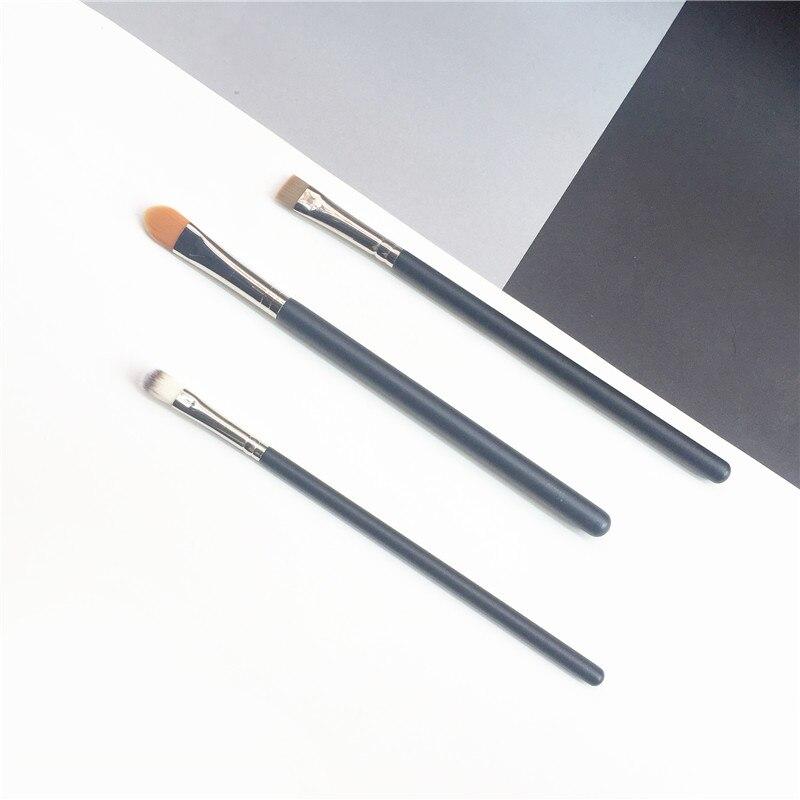 Кисть bdbeaute для консилера и подводки с плоским консилером, 194/195/212 синтетическая зеркальная коричневая подводка для ресниц, Кисть для макияжа...