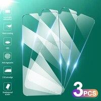 3 pezzi di vetro temperato per Xiaomi Mi 9 8 10 11 Lite 9T 10T Pro pellicola proteggi schermo per Xiaomi Poco X3 M3 Pro Mi A3 A2 Lite 9 Se