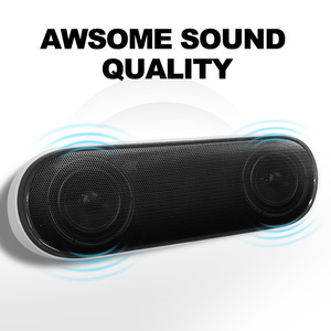 Image 3 - NBY 4070 Portable Bluetooth Speaker 10W Wireless Speakers with Subwoofer Support TF USB FM Radio for Laptop Computer