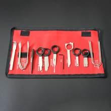 Kit d'outils professionnels pour intérieur automobile, 20 pièces, Audio stéréo, lecteur CD, Radio, clés de retrait