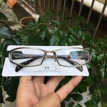 Giappone titanium occhiali miopia cornici uomini di stile di sport