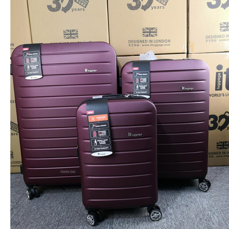 "CARRYLOVE 20 ""24"" 28 ""zoll spinner ABS expander 3 stück trolley set roll gepäck koffer set für reisen-in Gepäck-Sets aus Gepäck & Taschen bei  Gruppe 3"