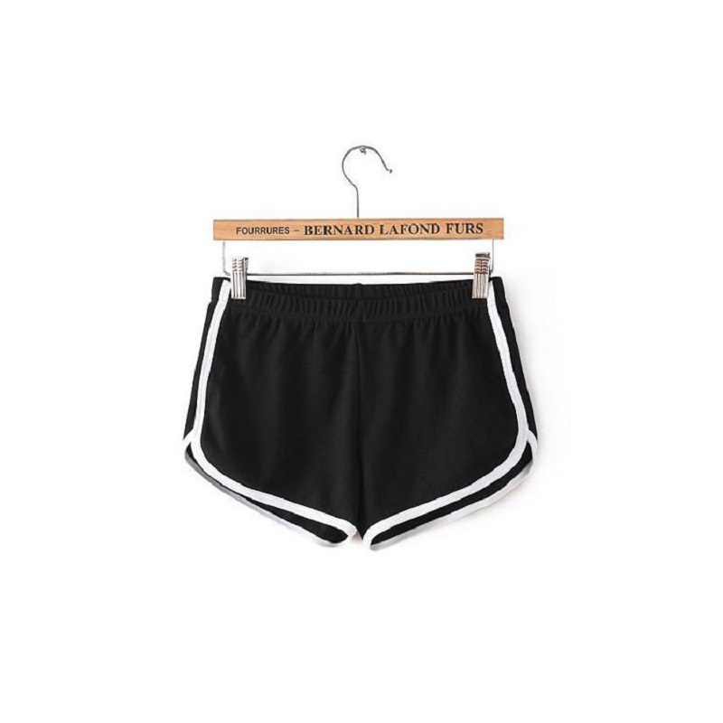 Cheap Stuff Fashion Stretch Waist Casual Shorts Woman 2019 High  Black  Feminino Harajuku Beach Elastic Sexy Short