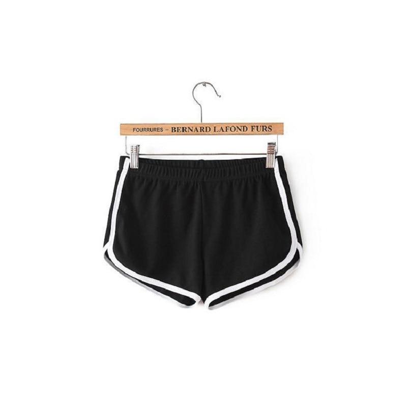 Cheap Stuff Fashion Stretch Waist Casual Shorts Woman 2019 High  Black  Feminino Harajuku Beach Elastic Sexy Short