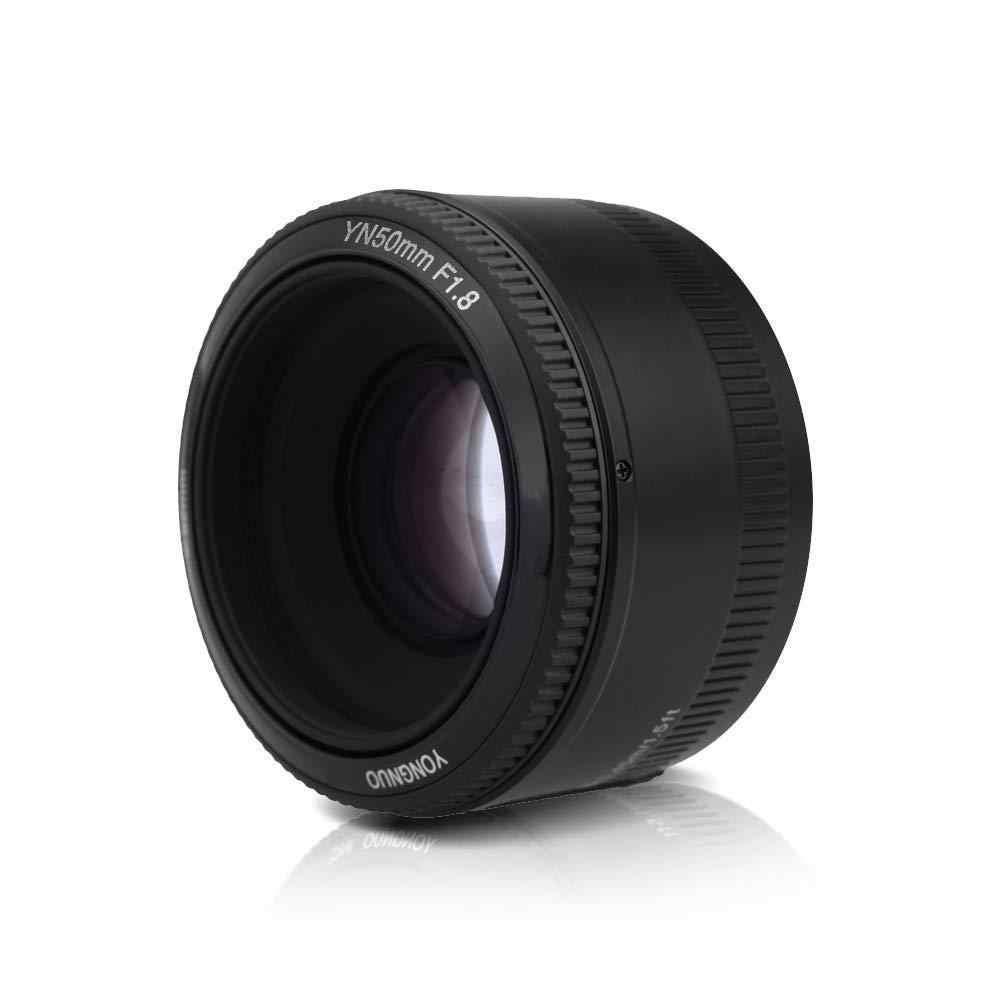 Kuulee YONGNUO YN50mm F1.8 obiektyw duży otwór przysłony automatyczne ustawianie ostrości obiektyw do modeli Canon EF aparatu EOS