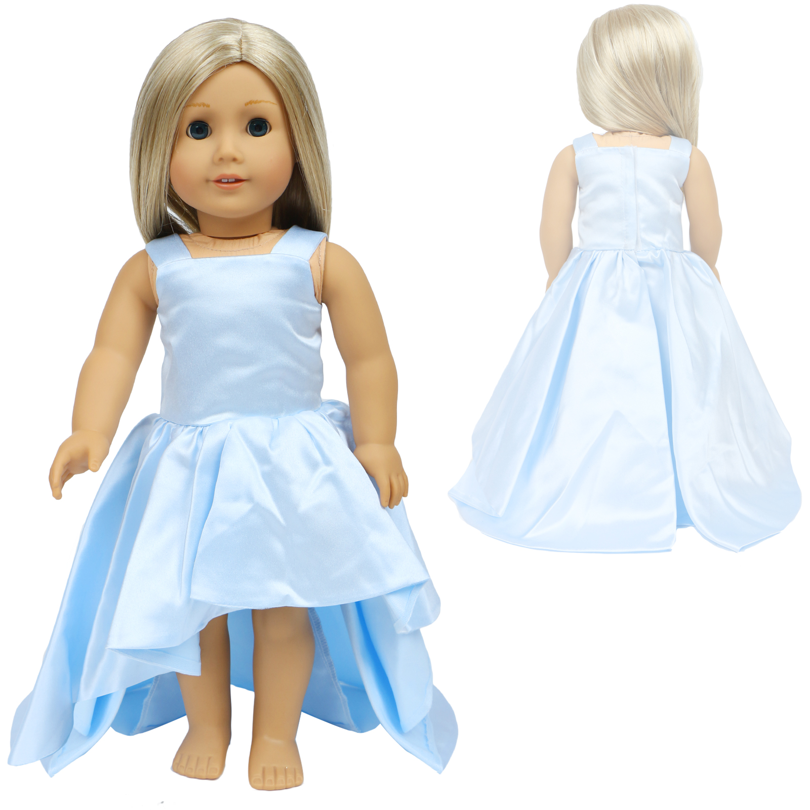 For 18 Inch American Girl Doll Clothes Accessories Handmade Doll Dress Set