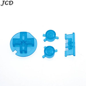 Image 5 - JCD 10sets/lot Plastic Power ON OFF Buttons Keypads for Gameboy Color GBC Colorful Buttons for GBC D Pads A B Buttons