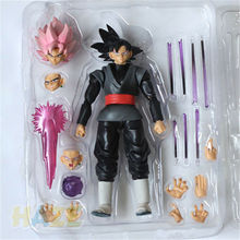 Anime Dragonball Figure Toys Z S.H.Figuarts Goku Gokou Black Rose Super Saiyan Dragonball Action Figure Toy Model In Box