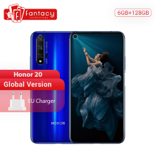 Global Version Honor 20 6GB 128GB Smartphone Kirin 980 Octa Core 48MP Four Cameras 6.26 inch