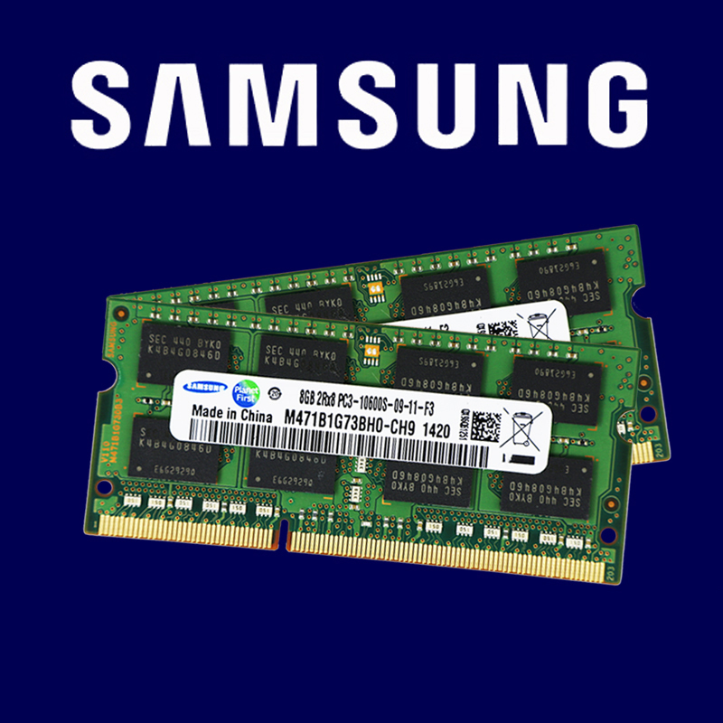 Samsung 2GB 4GB 8GB 2G 4G PC2 PC3 DDR2 DDR3 667Mhz 800Mhz 1333hz 1600Mhz 5300S 6400 8500 10600 ECC Laptop Memory Notebook RAM