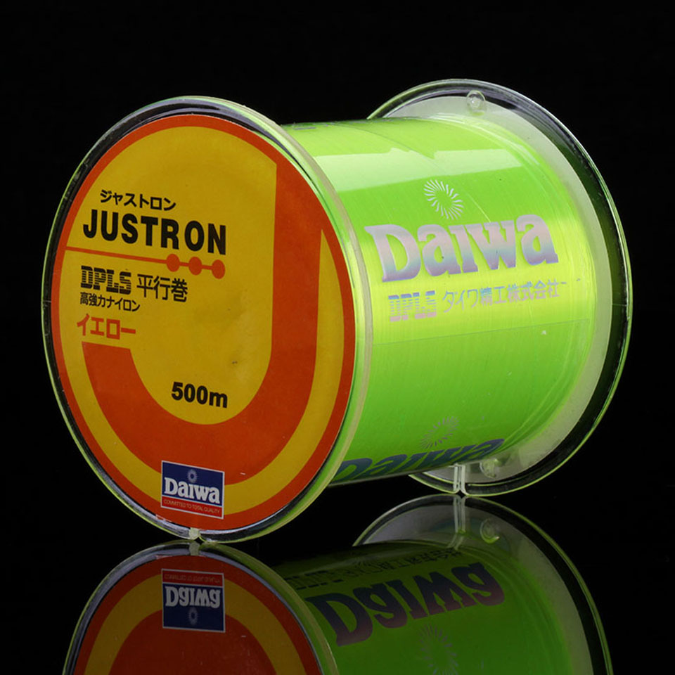 WALK FISH 500m Super Strong Nylon Fishing Line 4LB - 49LB 7 Colors Japan Monofilament Main Line For Carp & Match Fishing