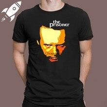 Detalhes sobre o prisioneiro série tv logotipo men's preto camiseta tamanho s m l xl 2xl 3xl-mostrar título no original
