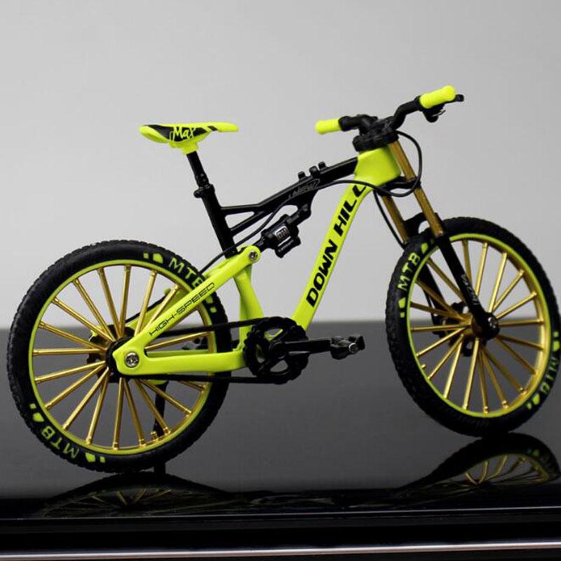 1:18 Alloy Bicycle Model Toy Racing Cycle Bike Cross Mountain Bike Gift DecorYAN