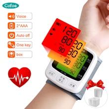 Ciśnieniomierz nadgarstkowy Cofoe Home przenośny cyfrowy automatyczny ciśnieniomierz do pomiaru ciśnienia krwi i puls