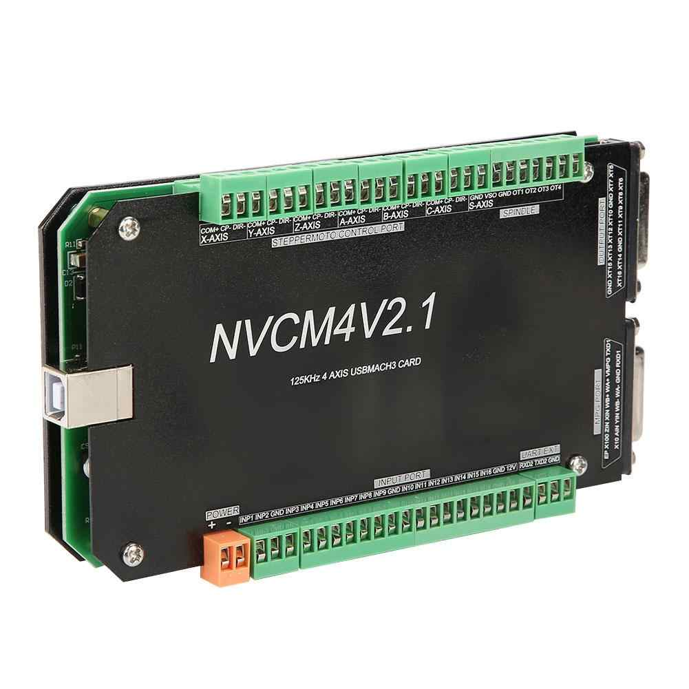NVCM 3/4/5/6-Achse CNC Controller MACH3-Breakout USB Interface Board Motion Control Karte für schrittmotor CNC Engravin