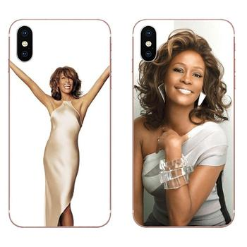 For Huawei Nova 2 V20 Y3II Y5 Y5II Y6 Y6II Y7 Y9 G8 G9 GR3 GR5 GX8 Prime 2018 2019 Soft Live Love Phone Whitney Houston Pattern image