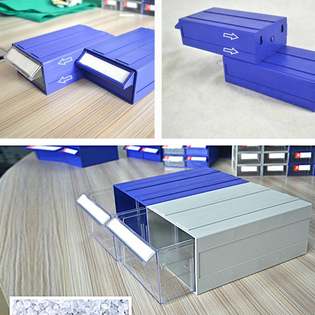 Business Office Furniture Storage Organizer Plastic Storage Container