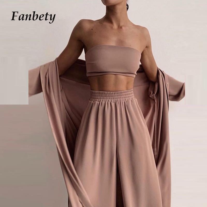 Jersey de moda para mujer + Pantalones de camal ancho, trajes deportivos para mujer, ropa de casa holgada elegante, ropa deportiva suave para mujer