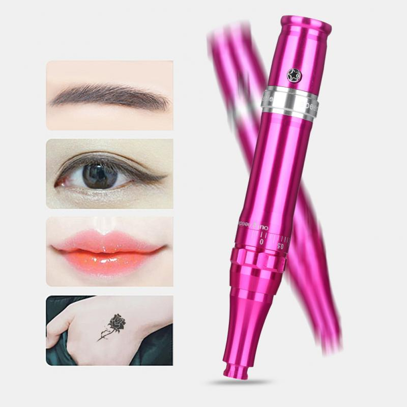 35000RPM Permanent Makeup Machine Eyebrow Eyeliner Lip Micro-needle Pen 110-240V Microblading Tattoo Supplies Eyebrow Pen Tools