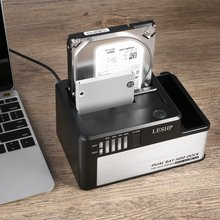 Dual Bay SATA to USB3 0 External Hard Drive Docking Station for 2 5 3 5inch