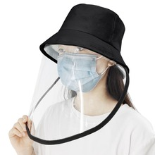 Outdoor protective cap & Anti-Saliva Splash Safety Face Shield Removable Full Cover Hat