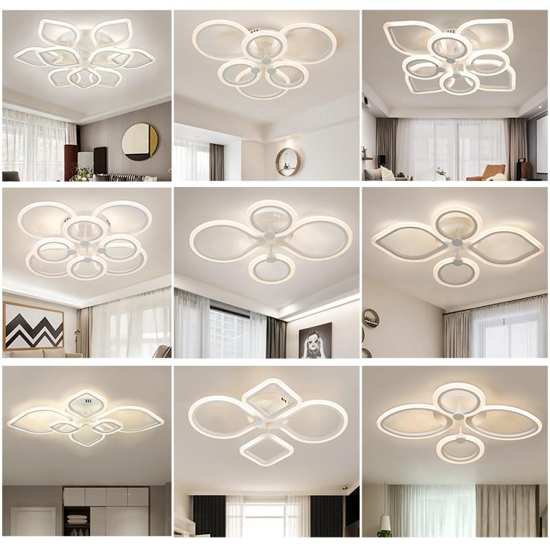 New Led Chandelier For Living Room Bedroom Home Modern Led Lighting Ceiling Lamp Living Room Chandelier Dinner Room Chandelier
