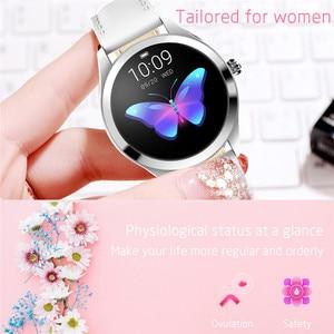 Image 5 - IP68กันน้ำสมาร์ทนาฬิกาผู้หญิงน่ารักสร้อยข้อมือHeart Rate Monitor Sleep Smartwatchเชื่อมต่อIOS Android KW10 Band
