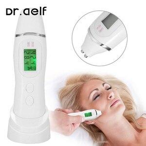 Image 1 - Handheld skin analyzer oil content digital LCD analyzer facial skin hygrometer skin care battery powered display tester