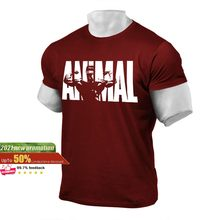 The Animal 3D Print T shirt For Men 2021 New Arrival Top shirts Style For Gym Sport & Street wear T-shirts breath Top tees brand