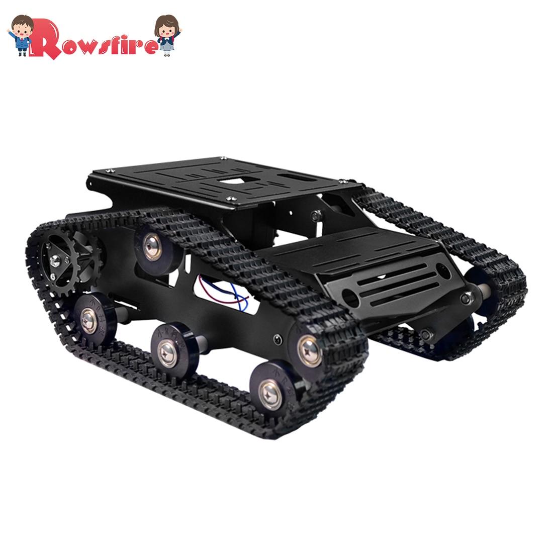 New Hot DIY Smart Robot Tank Crawler Chassis Car Frame Kit - Black/Blue/Red/Green/Golden