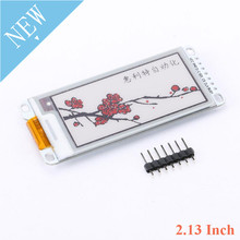 2.13 Inch E Paper Module E Ink Display Screen Module Black Red White Color SPI Supports Partial Refresh For Arduino